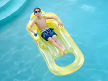 TD Boy in the Pool Commercial