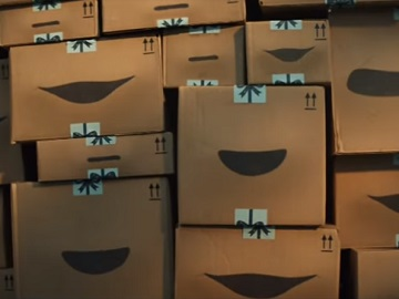 Amazon Boxes Singing Commercial