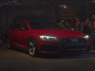 Audi RS 5 Sportback Christmas Commercial - Santa