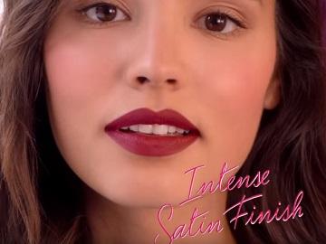 Bourjois Rouge Fabuleux Lipstick Advert Girl