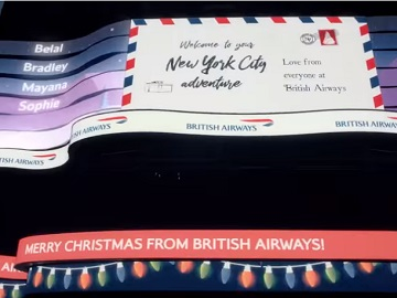 British Airways New York Advert