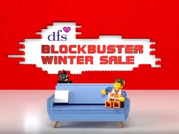 DFS Blockbuster Winter Sale Advert