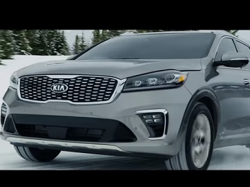 Kia Sorento Commercial - Snow