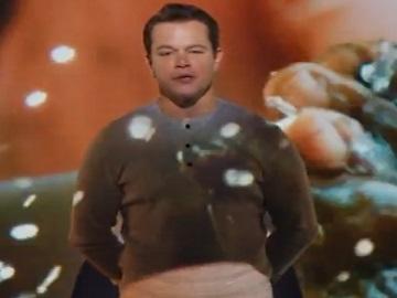Bank of America Commercial - Matt Damon