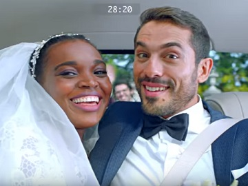Mercedes-Benz Genuine Shock Absorbers Bride & Groom Commercial
