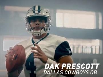 Oikos Dak Prescott Commercial