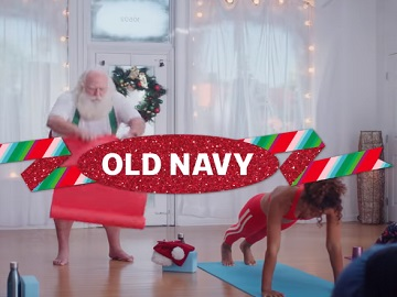 Old Navy Commercial - Santa at Yoga Class
