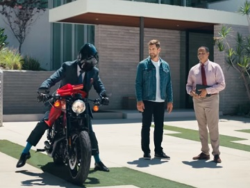State Farm Aaron Rodgers MVC Bike Commercial