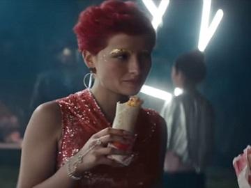 Taco Bell $1 Grande Burritos Commercial Girl