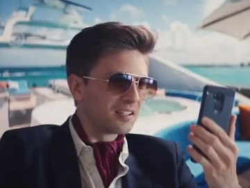 TurboTax Live Commercial - Man on Yacht