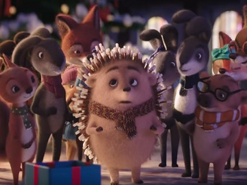 Erste Bank Hedgehog Advert - Igel