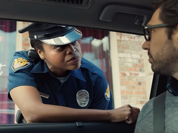 Lyft Commercial - Police Woman