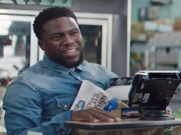 Kevin Hart Commercial >> Chase Freedom Unlimited Card Commercial Kevin Hart Trying To Grab Soup
