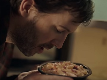Devour Super Bowl Commercial - Guy Addicted To Frozen Food