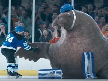 GEICO Walrus Goalie Commercial