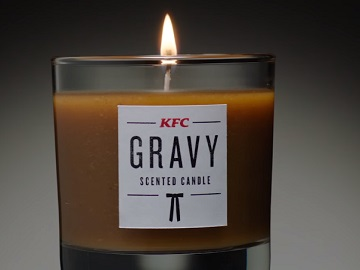 KFC Gravy Scented Candle Advert