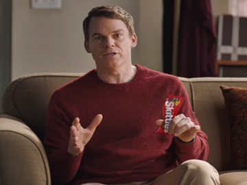 Skittles Super Bowl Commercial - Michael C. Hall Commercial