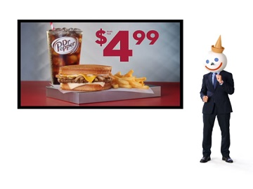 Jack in the Box Commercial - $4.99 Sourdough Patty Melt Combo