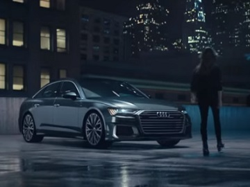 Audi A6 Commercial Girl