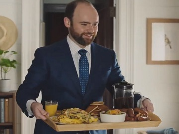 IKEA Commercial - Man Bringing Wife Breakfast in Bed