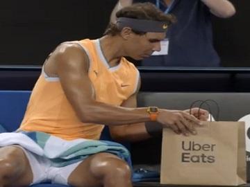 Uber Eats Rafael Nadal Commercial