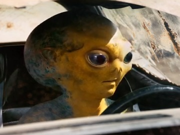 Butterfinger Alien Commercial