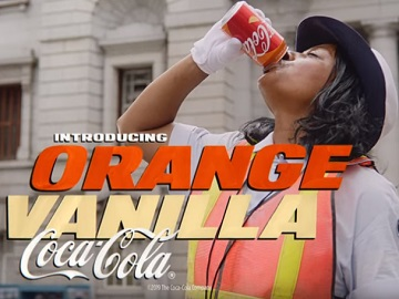 Coca-Cola Orange Vanilla Commercial - Traffic Officer