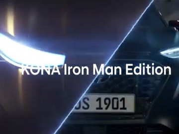 Hyundai Kona Iron Man Advert