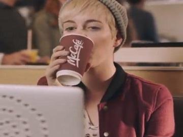 McDonald's McCafé Commercial Girl