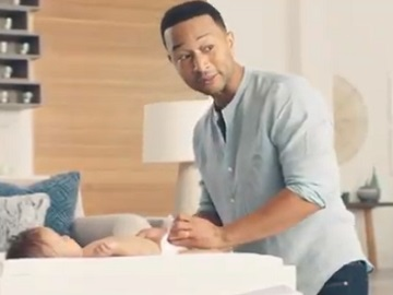 Pampers John Legend Commercial