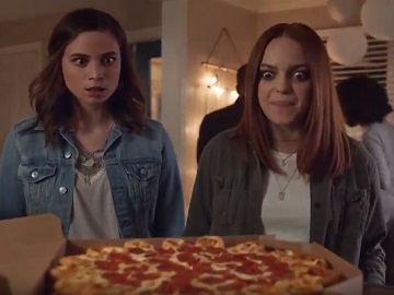 Pizza Hut Commercial - Two Girls at a Party