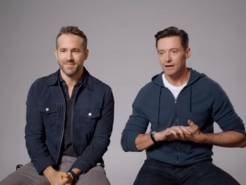 Ryan Reynolds vs. Hugh Jackman Commercials