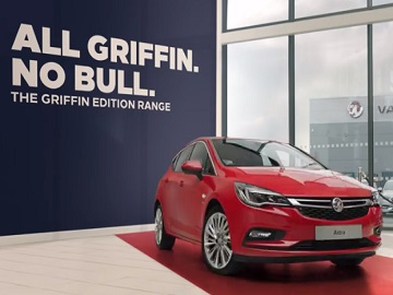 Vauxhall Griffin Editions Advert