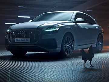 Audi Q8 Rooster Commercial