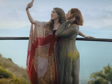 Booking.com Commercial - Girls Taking Selfies
