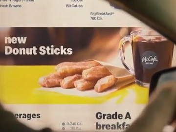 McDonald's Donut Sticks Commercial