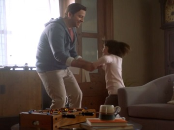 Ohio Lottery Commercial - Father Dancing with Little Daughter
