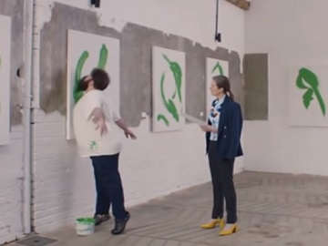 Paddy Power Advert - Man Painting With The Beard