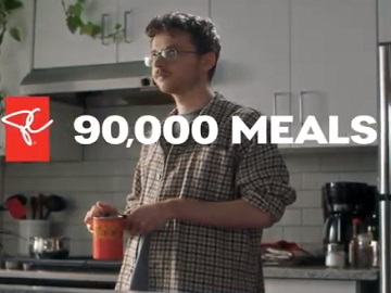 President's Choice Commercial - 90,000 Meals