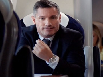 Virgin Trains Dean Gaffney Advert - Talking Toilet