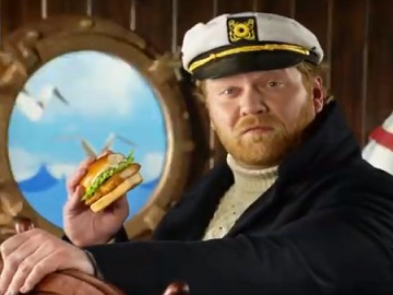 Wendy's North Pacific Cod Sandwich Commercial