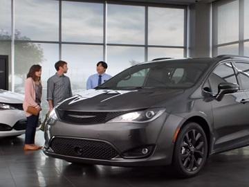 Chrysler Pacifica Talking Van Commercial