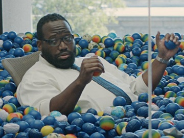 GEICO Squishy Balls in The Office Commercial