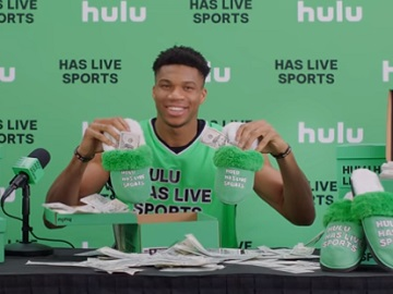 Hulu Commercial - Giannis Antetokounmpo