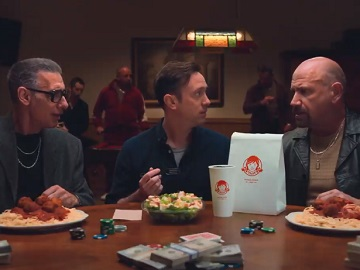 Wendy's Parmesan Caesar Chicken Salad Commercial - Mafia Spy