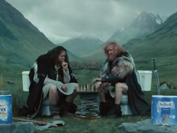 Aldi Game on Thrones Chess Advert