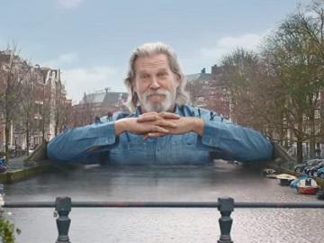 Amstel Bier Advert - Jeff Bridges