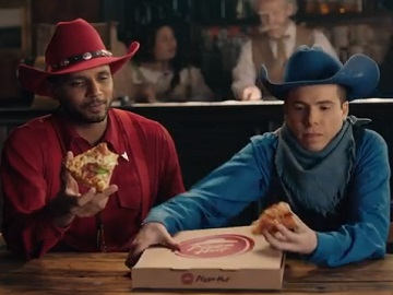 Pizza Hut Canada Cowboys Commercial
