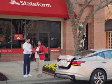 State Farm Cricket Crash Commercial - State Farm agent Jinisha Patel