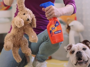 Tide Antibacterial Fabric Spray Commercial